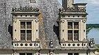 Dormer windows of the Chambord Castle 02.jpg