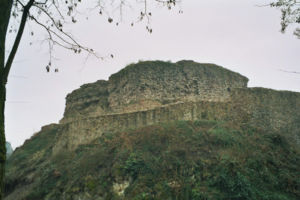 Dossenheim - The ruins of Schauenburg in Dossenheim