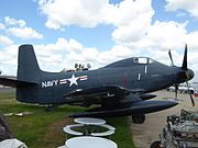 Douglas A2D Skyshark at San Diego Air & Space Museum annex 10.jpg