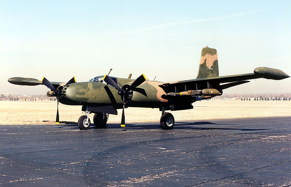 Douglas B-26K Counter Invader USAF