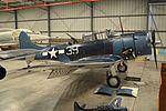 Douglas SBD-5 Dauntless '28536 - 39' (NX670AM) (26943030726).jpg