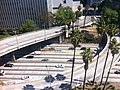 Downtown above the 110 Freeway - panoramio.jpg