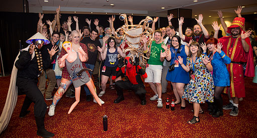 Dragon Con 2015 - group of cosplayers (21716521220)