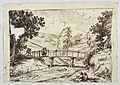 Drawing, Landscape with Bridge, late 18th–early 19th century (CH 18118927).jpg