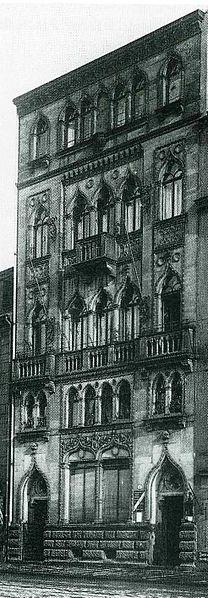 file dresden terrassenufer 5 1900 venezianische haus helas bildnr wikimedia commons. Black Bedroom Furniture Sets. Home Design Ideas