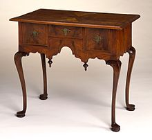 Delightful Queen Anne Dressing Table With Cabriole Legs. Boston, Massachusetts, Circa  1730 1750