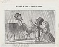 Driver, Stop, I will hire you and pay you by the hour!, from 'The coachmen in Paris,' published in Le Charivari, December 21, 1864 MET DP877188.jpg