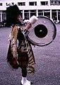 Drum major on parade at Tulliallan - geograph.org.uk - 261439.jpg