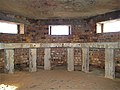 Drumside links, World War 2 Pillbox interior - geograph.org.uk - 745490.jpg