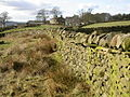 Dry Stone Wall at Langbar - geograph.org.uk - 123855.jpg