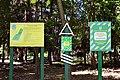 Dubechne Starovyzhivskyi Volynska-Dubechnivskyi park architecture monument-guard boards.jpg