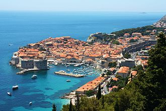 Dubrovnik is one of Croatia's most popular tourist destinations. Dubrovnik june 2011..JPG