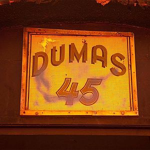 Dumas Brothel - Dumas Brothel sign