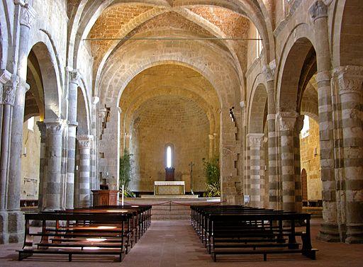 Duomo di Sovana - interno