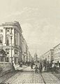 Durand - View of Nevsky Prospekt near the Politseisky Bridge 1839.jpg