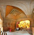 Durga Puja Pandal Interior - Biswamilani Club - Padmapukur Water Treatment Plant Road - Howrah 2014-10-04 9410-9421.tif