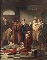 Durupt - Henri III poussant du pied le cadavre du duc de Guise.jpg