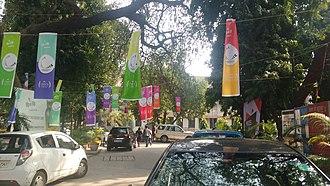 Dyal Singh College, Delhi - College During Festive Season