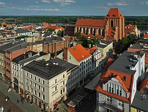 Medieval Town of Toruń - Medieval Town of Toruń, view from the Old Town City Hall