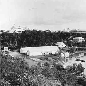Palmerston, Northern Territory - The harbour at Palmerston, later Darwin