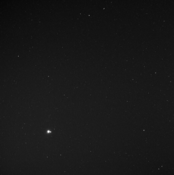 Earth and Moon seen from 183 million kilometers by MESSENGER