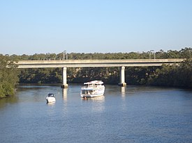 Rail bridge over the Georges River at East Hills
