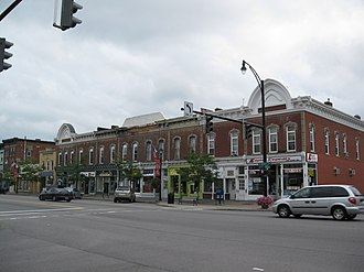 Palmyra (town), New York - The East Main Street Commercial Historic District