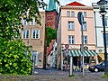 East to St Petrikirche through little alley May 2002 - panoramio.jpg