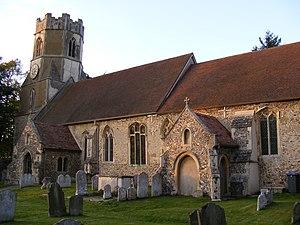 Easton, Suffolk - Church of All Saints, Easton