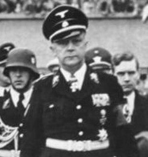 Karl von Eberstein - Eberstein in 1938