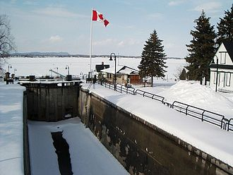 Chambly Canal - Image: Ecluse de Chambly, Chambly, QC
