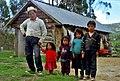 Ecuador, Azogues - Native family, 1992.jpg