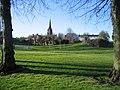 Edgar's Field park and St Mary's church - geograph.org.uk - 750459.jpg