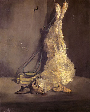 The Rabbit (Manet 1881) - Image: Edouard, Manet The Rabbit (1866)