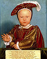 Edward, Prince of Wales (later Edward VI) by Hans Holbein the Younger and Studio.jpg