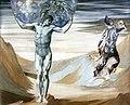 Edward Burne-Jones - Atlas Turned to Stone, 1878.jpg