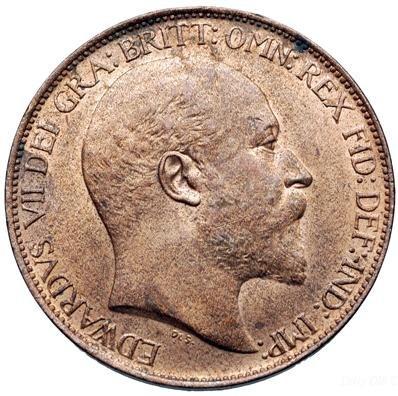 Edward VII Halfpenny