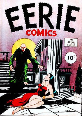 Horror comics - Image: Eerie Comics No 1 Avon first version