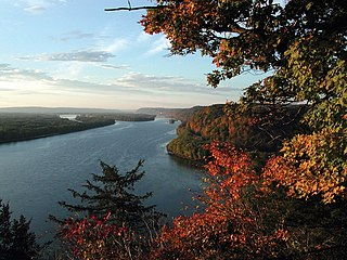 Mississippi River largest river system in North America
