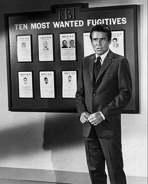 "The F.B.I. (TV series) - A 1969 ""Ten Most Wanted List"" segment; these were seen at the close of some episodes."