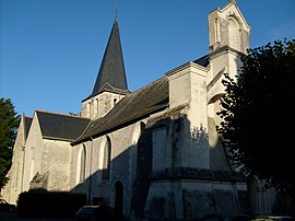 The church in Artannes-sur-Indre