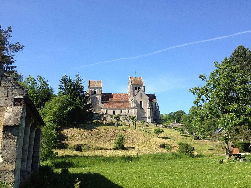 Septvaux (Aisne, France) church