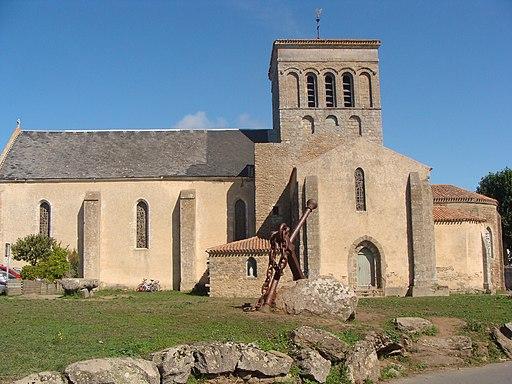 Eglise de St Sauveur. ile d'YEU