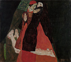 Cardinal and Nun (Caress)