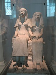 Statue of Horemheb and Amenia