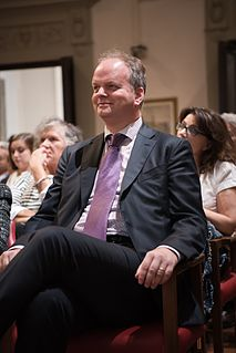 Eike Schmidt director of the Uffizi Gallery, a museum in Florence, Italy.