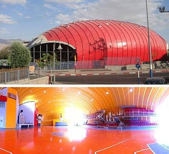 Eilat Sports Center - Sports Center at Eilat Israel.