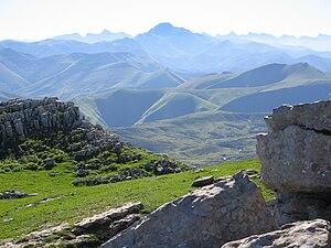 Battle of Roncevaux Pass (824) - The Cize mountain passes