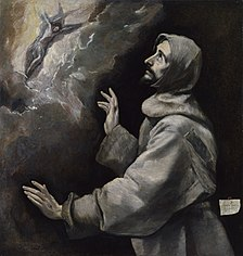El Greco - Saint Francis Receiving the Stigmata - Walters 37424.jpg