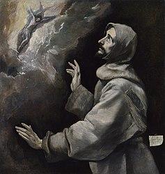 El Greco: Saint Francis Receiving the Stigmata